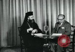 Image of Archbishop Makarios and John Harding Nicosia Cyprus, 1955, second 5 stock footage video 65675022144