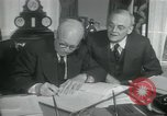 Image of SEATO treaty Washington DC, 1954, second 4 stock footage video 65675022145