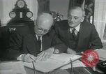 Image of SEATO treaty Washington DC, 1954, second 6 stock footage video 65675022145