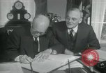 Image of SEATO treaty Washington DC, 1954, second 8 stock footage video 65675022145