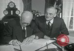 Image of SEATO treaty Washington DC, 1954, second 9 stock footage video 65675022145