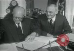Image of SEATO treaty Washington DC, 1954, second 11 stock footage video 65675022145
