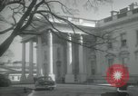 Image of President Dwight D Eisenhower and Senators Washington DC White House USA, 1954, second 4 stock footage video 65675022146