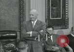 Image of President Dwight D Eisenhower Washington DC USA, 1953, second 1 stock footage video 65675022149
