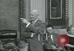 Image of President Dwight D Eisenhower Washington DC USA, 1953, second 2 stock footage video 65675022149