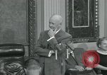 Image of President Dwight D Eisenhower Washington DC USA, 1953, second 3 stock footage video 65675022149