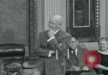 Image of President Dwight D Eisenhower Washington DC USA, 1953, second 4 stock footage video 65675022149