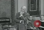 Image of President Dwight D Eisenhower Washington DC USA, 1953, second 7 stock footage video 65675022149
