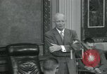 Image of President Eisenhower Washington DC USA, 1953, second 3 stock footage video 65675022150
