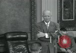 Image of President Eisenhower Washington DC USA, 1953, second 4 stock footage video 65675022150