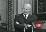 Image of President Dwight D Eisenhower Washington DC USA, 1953, second 2 stock footage video 65675022153