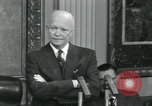 Image of President Dwight D Eisenhower Washington DC USA, 1953, second 3 stock footage video 65675022153