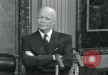 Image of President Dwight D Eisenhower Washington DC USA, 1953, second 4 stock footage video 65675022153