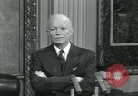 Image of President Dwight D Eisenhower Washington DC USA, 1953, second 10 stock footage video 65675022153