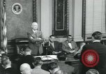 Image of President Dwight D Eisenhower Washington DC USA, 1953, second 5 stock footage video 65675022158