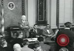 Image of President Dwight D Eisenhower Washington DC USA, 1953, second 6 stock footage video 65675022158