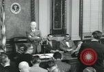 Image of President Dwight D Eisenhower Washington DC USA, 1953, second 7 stock footage video 65675022158