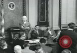 Image of President Dwight D Eisenhower Washington DC USA, 1953, second 8 stock footage video 65675022158