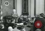 Image of President Dwight D Eisenhower Washington DC USA, 1953, second 9 stock footage video 65675022158