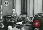 Image of President Dwight D Eisenhower Washington DC USA, 1953, second 10 stock footage video 65675022158
