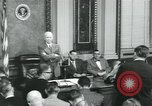 Image of President Dwight D Eisenhower Washington DC USA, 1953, second 11 stock footage video 65675022158