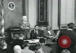 Image of President Dwight D Eisenhower Washington DC USA, 1953, second 12 stock footage video 65675022158