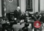 Image of President Dwight D Eisenhower Washington DC USA, 1953, second 7 stock footage video 65675022159