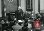 Image of President Dwight D Eisenhower Washington DC USA, 1953, second 9 stock footage video 65675022159