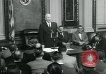 Image of President Dwight D Eisenhower Washington DC USA, 1953, second 11 stock footage video 65675022159