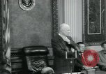 Image of President Dwight D Eisenhower Washington DC USA, 1953, second 10 stock footage video 65675022160