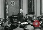 Image of President Dwight D Eisenhower Washington DC USA, 1953, second 2 stock footage video 65675022161