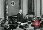 Image of President Dwight D Eisenhower Washington DC USA, 1953, second 5 stock footage video 65675022161