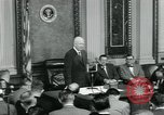 Image of President Dwight D Eisenhower Washington DC USA, 1953, second 6 stock footage video 65675022161