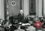 Image of President Dwight D Eisenhower Washington DC USA, 1953, second 9 stock footage video 65675022161