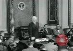 Image of President Dwight D Eisenhower Washington DC USA, 1953, second 10 stock footage video 65675022161