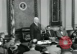 Image of President Dwight D Eisenhower Washington DC USA, 1953, second 11 stock footage video 65675022161