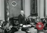 Image of President Dwight D Eisenhower Washington DC USA, 1953, second 12 stock footage video 65675022161