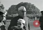 Image of Jawaharlal Nehru at Republic Day parade New Delhi India, 1950, second 8 stock footage video 65675022163