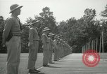 Image of Students going through a pistol drill Quantico Virginia USA, 1942, second 4 stock footage video 65675022168