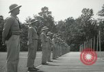 Image of Students going through a pistol drill Quantico Virginia USA, 1942, second 5 stock footage video 65675022168