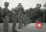 Image of Students going through a pistol drill Quantico Virginia USA, 1942, second 11 stock footage video 65675022168