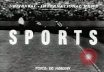 Image of International motorbike race Denmark, 1951, second 2 stock footage video 65675022182