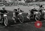 Image of International motorbike race Denmark, 1951, second 6 stock footage video 65675022182