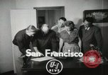 Image of Ed Cereghino San Francisco California USA, 1951, second 3 stock footage video 65675022183