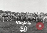 Image of 240 Naval Reserve Mid-Shipmen Little Creek Virginia USA, 1951, second 2 stock footage video 65675022184