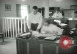 Image of Administrative activities at MAAG building Baghdad Iraq, 1956, second 8 stock footage video 65675022188