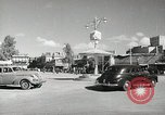 Image of Traffic policeman under umbrella Baghdad Iraq, 1942, second 3 stock footage video 65675022192