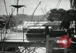 Image of Los Angeles harbor Los Angeles California USA, 1935, second 5 stock footage video 65675022206