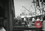 Image of New Orleans harbor New Orleans Louisiana USA, 1935, second 6 stock footage video 65675022208