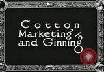 Image of Cotton ginning New Orleans Louisiana USA, 1919, second 3 stock footage video 65675022211